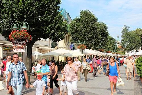 Ulica Bohaterów Monte Cassino w Sopocie