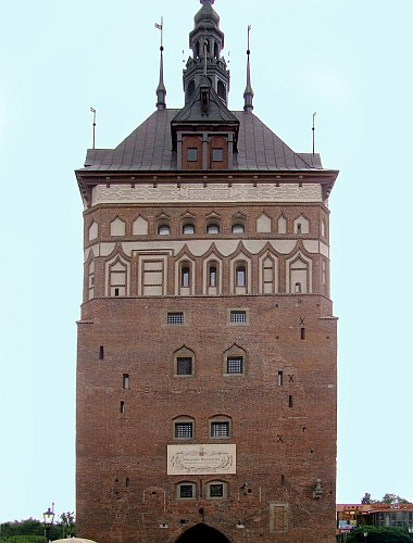 Katownia - Wieża Więzienna obecnie Muzem Bursztynu