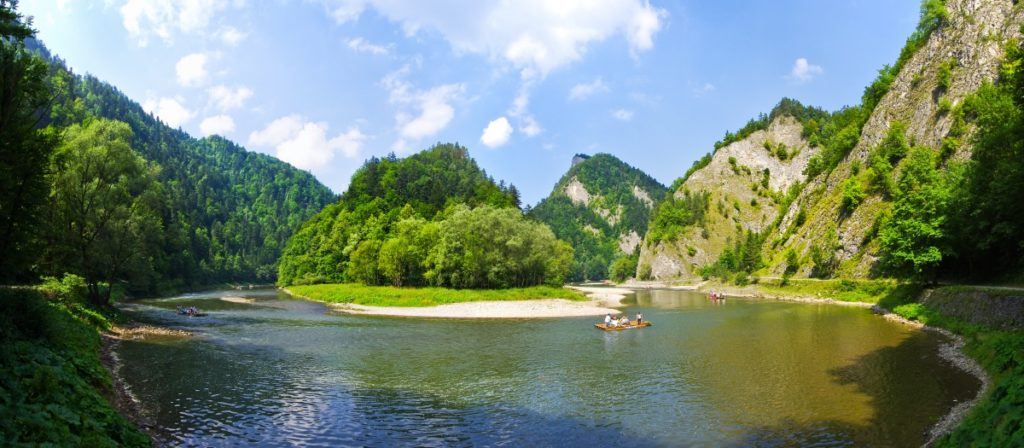 Dunajec - Pieniny, spływy