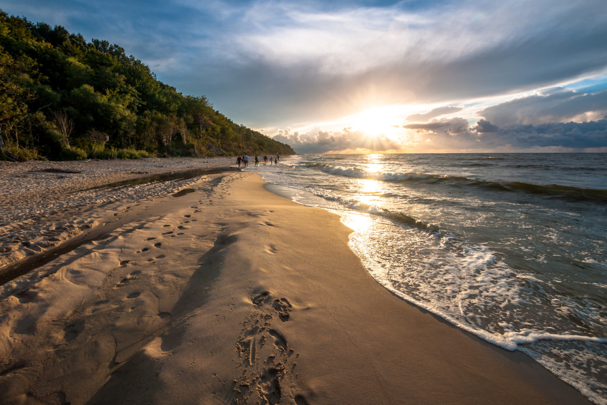 Plaża Morze Bałktyckie