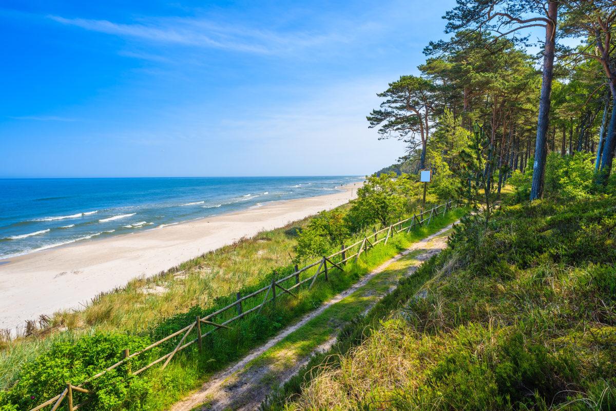 Lubiatowo plaża
