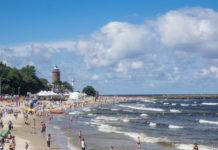 Kołobrzeg plaża