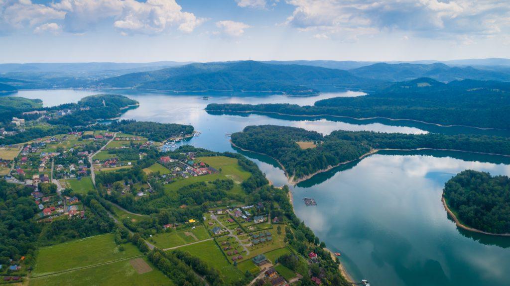 Jezioro Solińskie bieszczady atrakcje