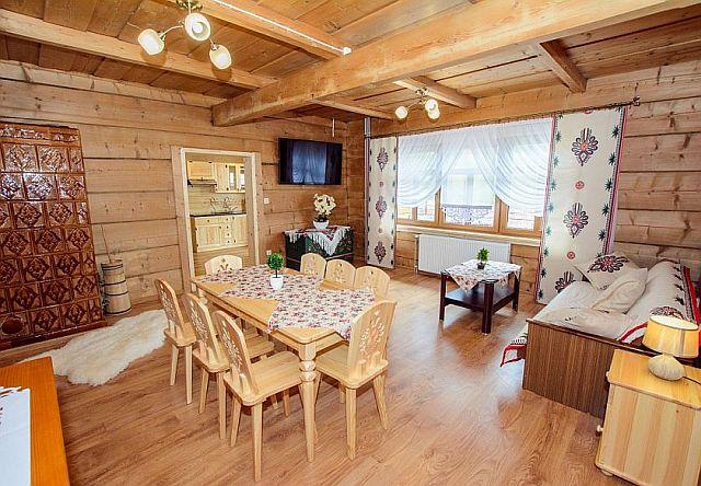 Wnętrze domu góralskiego