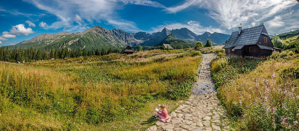 dolina chochołowska, dolina w Tatrach, szlak dla początkujących szlak dla dzieci w tatrach