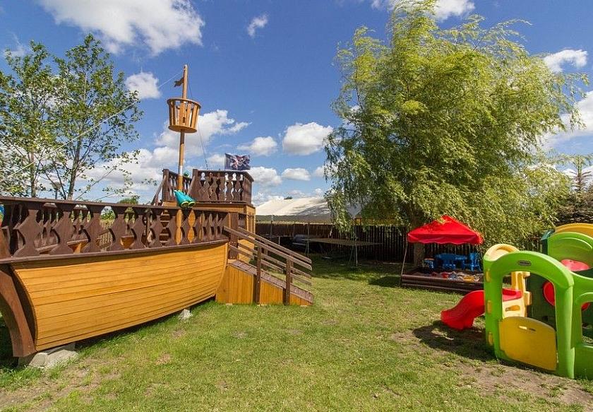 Statek Piracki - atrakcja dla najmłodszych