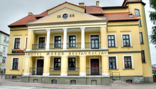 Hotel Mazur Mikołajki Hotele E Wczasypl
